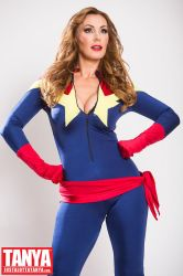 Captain Marvel Cosplay by Tanya Tate by TanyaTate