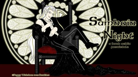 Scath's-Throne-wallpaper 1600x900 by SamhainNightManga
