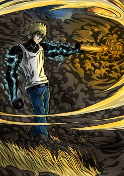 One-Punch Man - Genos by Isural