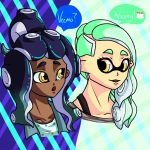 .:Gift:. OctolINKing it Up by Melomiku