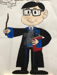 LibraryWizard in the Loud House style