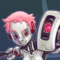 GLaDOS close up by TOTOPO