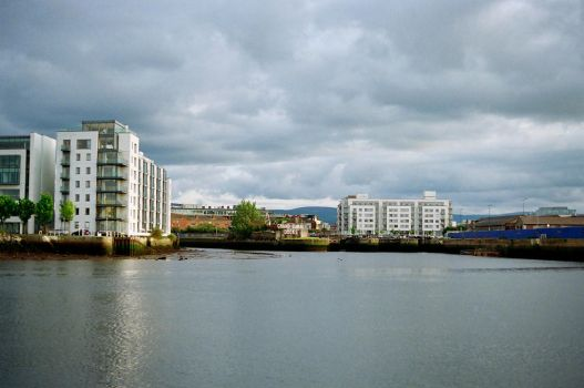 Grand Canal Dock by neuroplasticcreative