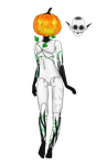 Halloween Event Day 5: Pumpkin Doll (closed) by ChaoticallyKhaos