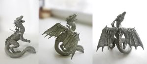 Dragon figure by LordBurevestnik