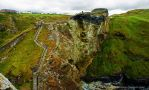 Tintagel Castle by Quoth-Raven