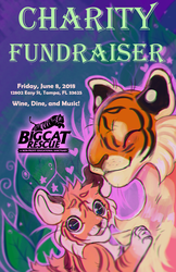 Big Cat Rescue Charity Poster {Class Project} by MoggieDelight