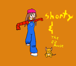 Shorty and The EZ mouse by radstylix