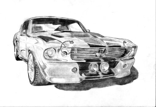 Ford Mustang Shelby GT500 by Ystroin