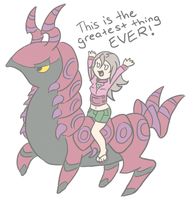 I'm on a Scolipede by RaineyJ