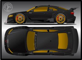 Audi A5 Concept DTM by graphicwolf