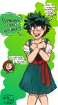 Gay or European- Deku in a Dirndl by luckylizart