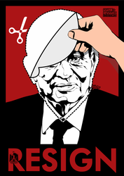 Resign by graphic-resistance
