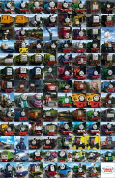 All Thomas and Friends CGI Characters Promos by 76859Thomasreturn