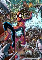 Spidey and the sinister....way to many by LiamShalloo