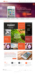 Metro Website Design by Abedelraof