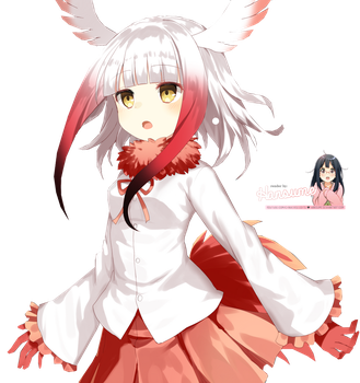 Japanese Crested Ibis (Kemono Fr..) | Render #067 by Hansume