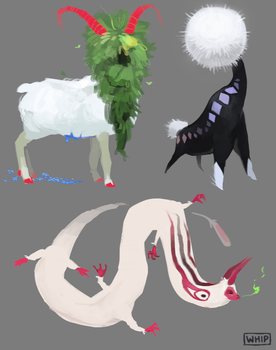 Blog Monsters by Whip-o-will