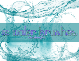 Water brushes [32] by GhostxMadnessGirl