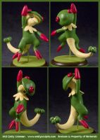 Commission : Breloom Uppercut! by emilySculpts