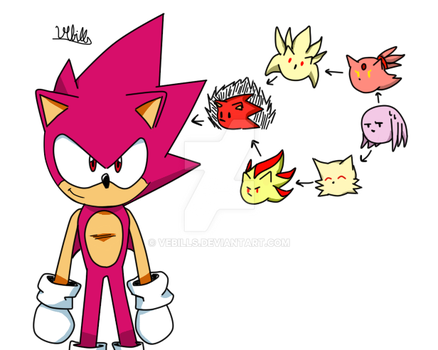 The Real Super Sonic God Form. by Vebills