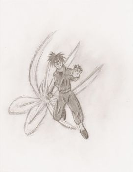 Flame of Psychotic Recca by Crim000