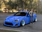 Katsumi with the Scion FRS by Mikey186