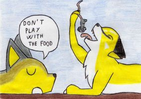 Don't play with food by Kooskia