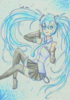 Hatsune Miku by XxX-Cookie-chan-XxX
