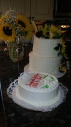 Wedding Cakes by GillyTheArtist