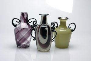 Handled Vases by davethecat