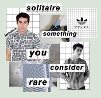 solitaire // dylan o'brien by KarouMeow