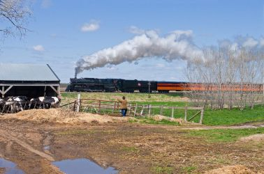 Old Steam Passenger Train by ROGUE-RATTLESNAKE