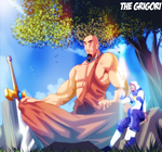 Enoch and Mahaway the Giant by TheGrigoriAnime