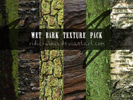 Wet Bark Texture Pack by ridic-ulous