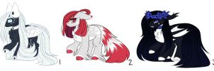 Ranged MLP Fluffy Adoptions 2.0 :Auction: [Closed] by InspiredPixels