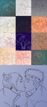 Naruto Ships Kissing by CodeHeaven