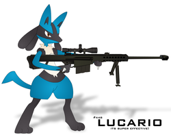 Lucario by Turbocharge0