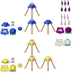 Pikmin 2 Missing Objects by peachsamus