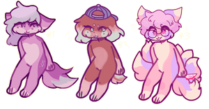 3 adopts | CLOSED by keebou