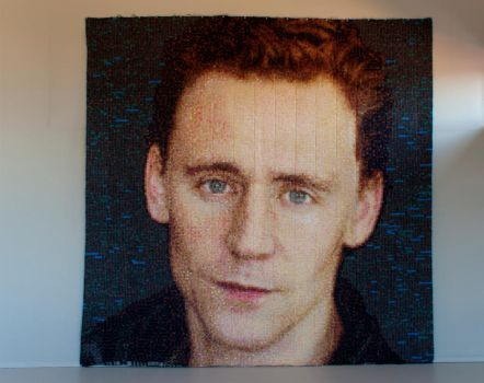Tom Hiddleston Quilt by RobynRose