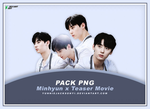 [PNG Pack #9] Wanna One Minhyun x Teaser Movie by yunniejacksonyi