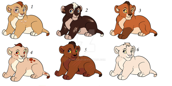 Cubs adoptables 9 by Monse2001