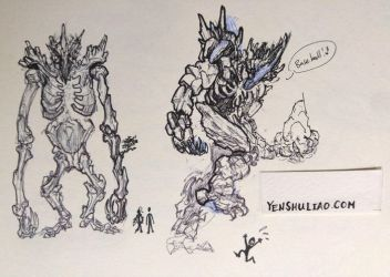 Thunderclast Sketch 002 by YSLiao