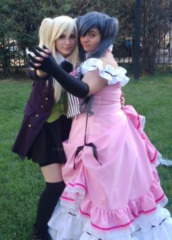 female: ciel x alois by karla-272