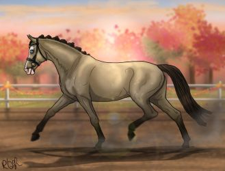 Autumn Event 5.0 - Avignon Halter by RQsf