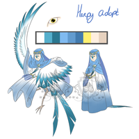 .:Acution:. Harpy Lady -CLOSED- by Manateacup