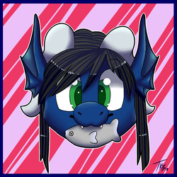 Keyth Food Icon (YCH Commission) by PatitasSalvajes