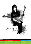 Michael Angelo Batio [vector source] by OlegLevashov