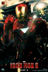 IRON MAN 3 - ''China'' - character poster by AndrewSS7